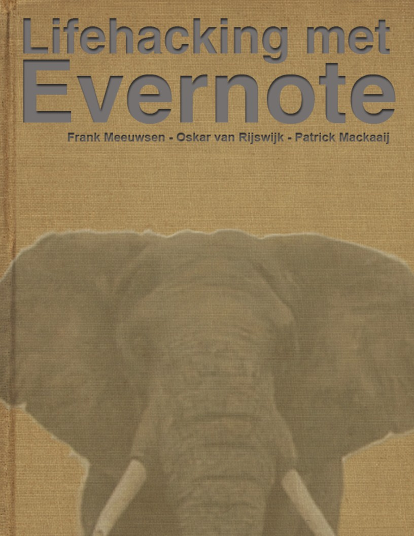 Cover Lifehacking met Evernote